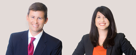 Jones and McLin in their new portraits on the Keogh Cox site