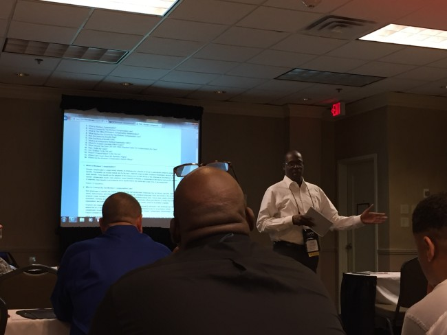 safety expo 2015 corey gaines