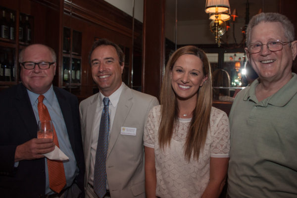 From left: Mark Tullis, Matthew Monson, Christine Bergeron, John Kocke