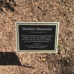 Tree Dedicated on Workers' Memorial Day with Speech from Baton Rouge Mayor Sharon Weston Broome