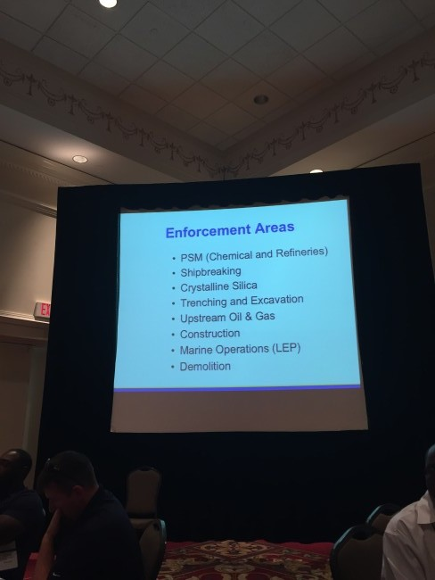 safety expo 2015 OSHA update 3